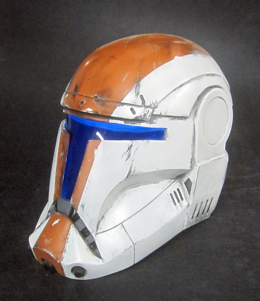 Boss Helmet Painted