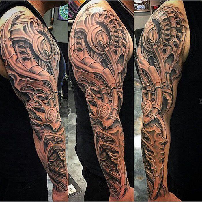 Männer arm tattoos für Der kühlste