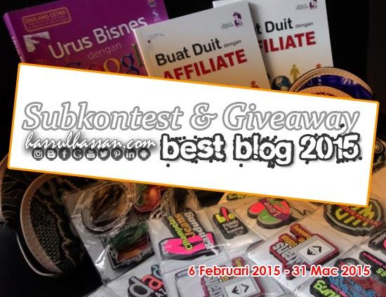 GA Subkontest HASRULHASSAN.COM Best Blog 2015