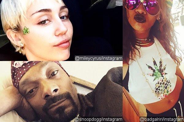 Miley Cyrus, Rihanna, Snoop Dogg Among Stars Commemorating 4/20