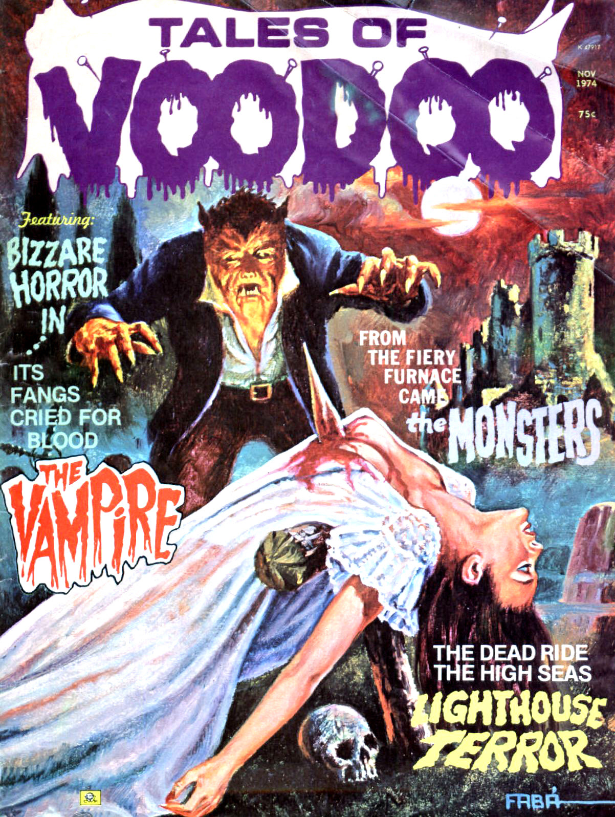Tales of Voodoo Vol.7 #6 (Eerie Publications 1974)