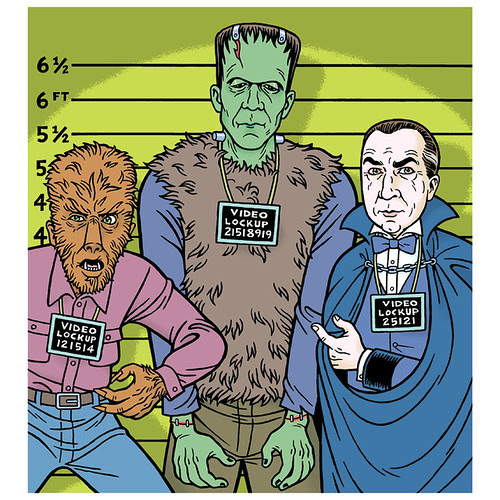 Frankenstein, Dracula, and The Wolf Man at Brattle Theatre