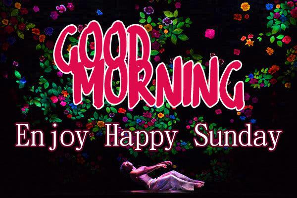 Sunday Good Morning Wishes Wallpaper Free