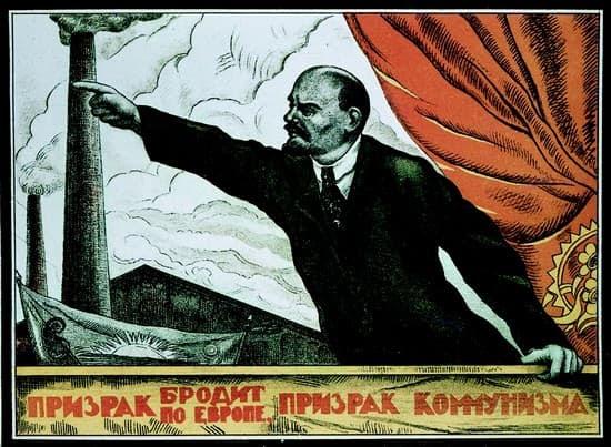 Lénine, affiche