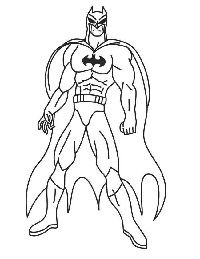 Superheroes Para Colorear Pintar E Imprimir