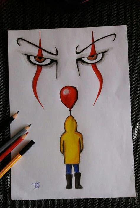 clown drawings   cool art drawings