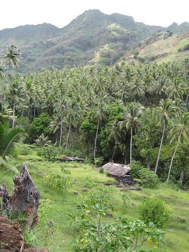 ancient village, Vaitahu