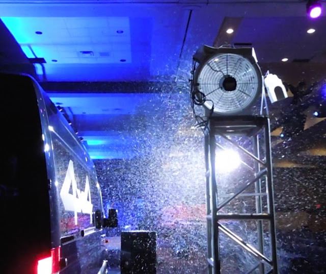 mercedes benz show T 1500 snow machine