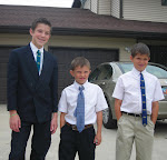 Boys all ready for Church