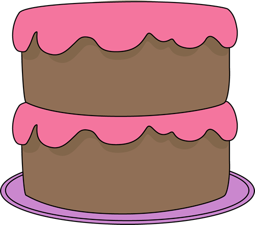 Birthday Cake Clipart Candle Cartoon Birthday Cake No
