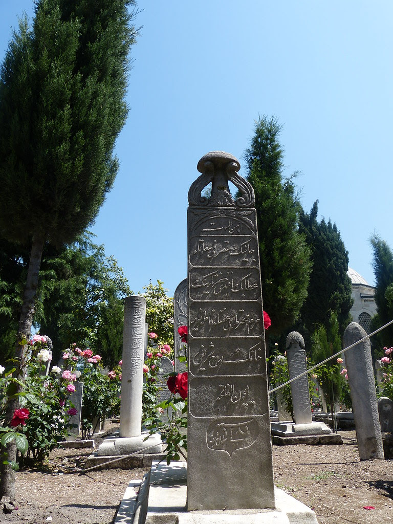 Tombstone, Suleymaniye Mosque, Istanbul
