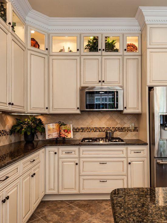 Dark Granite Countertops - Photos of Cabinet Combinations ...
