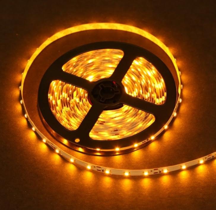 Standard Yellow LED Light Strip