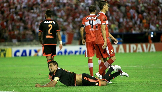CRB x Sport, no Rei Pelé; Diego Souza (Foto: Ailton Cruz/Gazeta de Alagoas)
