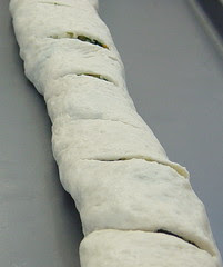 stromboli before baking