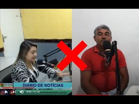 """Marcação: Prefeita Eliselma Oliveira """"Lili"""" rebate fala vereador de oposição Dé Condado (PSDB) em programa de rádio (Ouça áudio)"""