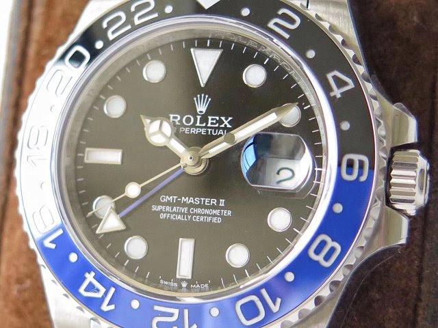 Replica Rolex GMT-Master II Black Dial