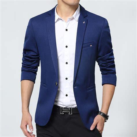 New Design Mens Brand Blazer Jacket Coats slim fit Suit
