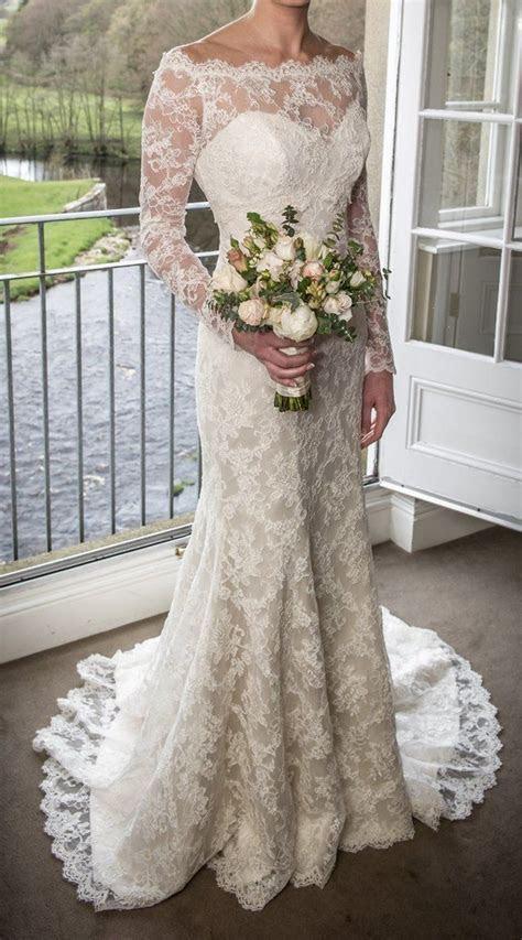 Preloved   suzanne neville hepburn wedding dress & lace