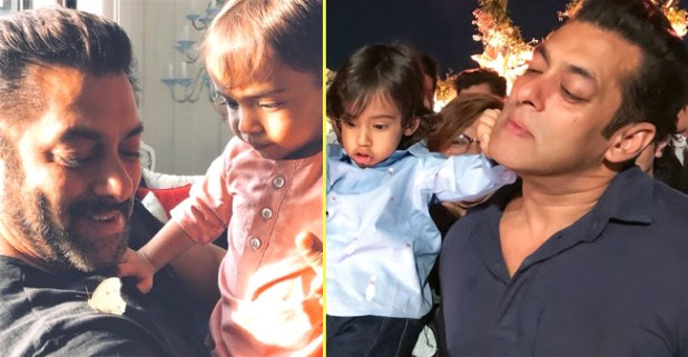 Salman Khan's Priceless Moment With Nephew Ahil Is Winning Hearts
