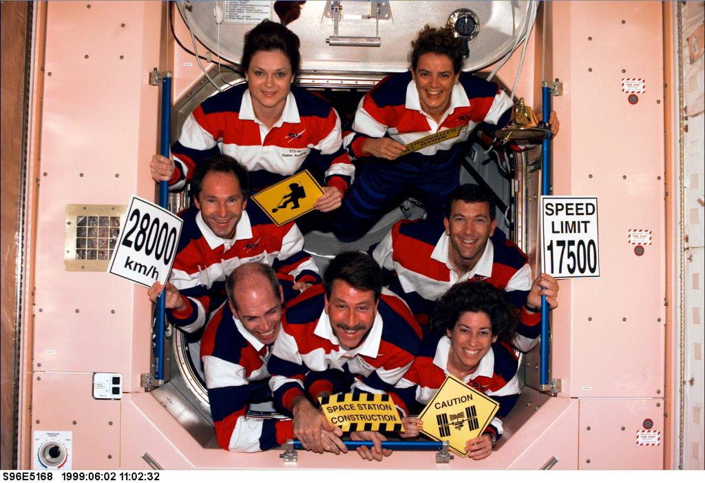 Jun06-1996-STS96-crew
