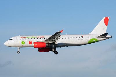 VivaAerobus (vivaaerobus.com) Airbus A320-232 EI-ERH (msn 2157) DUB (Paul Doyle). Image: 922038.