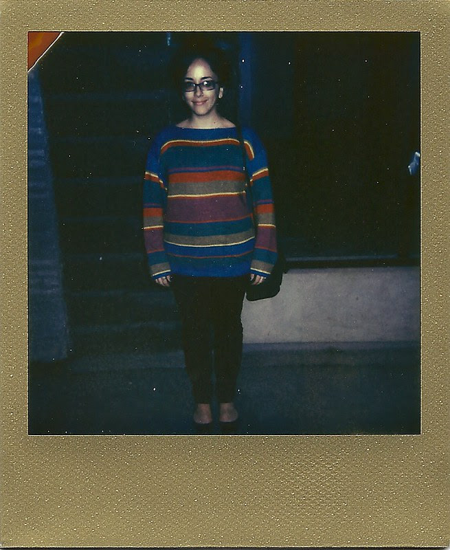 Solid Gold - Daily Outfit - Impossible Project