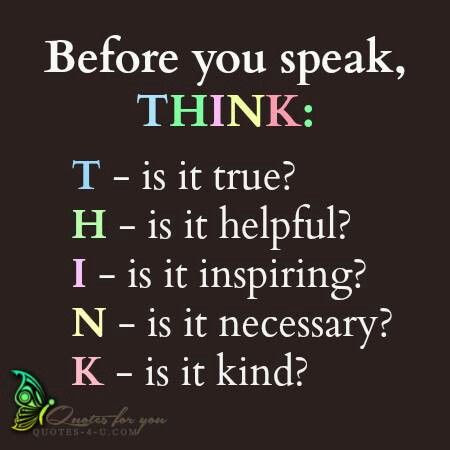 Quotes About Think Before Speak 59 Quotes