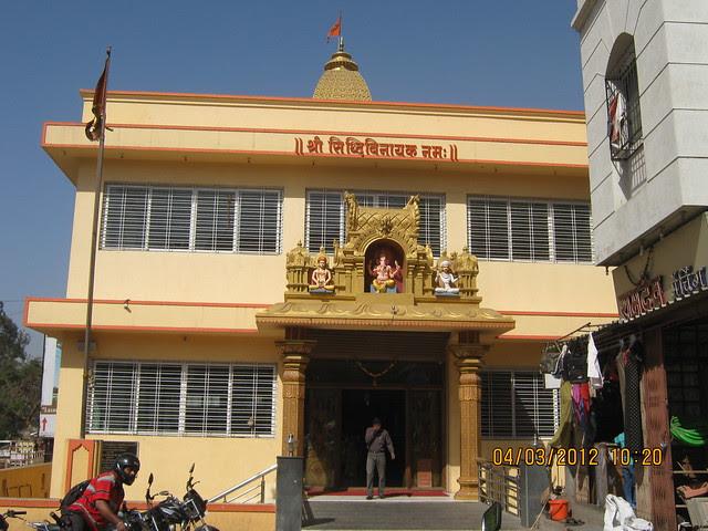 Temple at Datta Nagar Chowk - Visit Shri SiddhiVinayak Manswi, 2 BHK & 3 BHK Flats at Ambegaon Budruk, Pune 411046