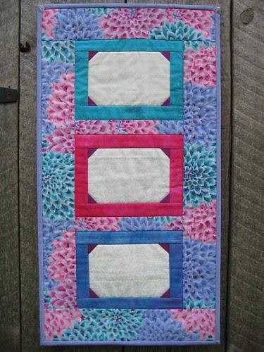 Photo frame quilt by Poppyprint