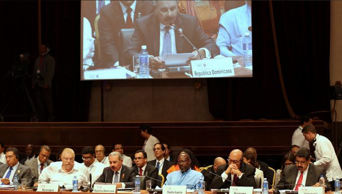 Danilo propone el Caribe sea modelo en prevenir riesgos del cambio climático