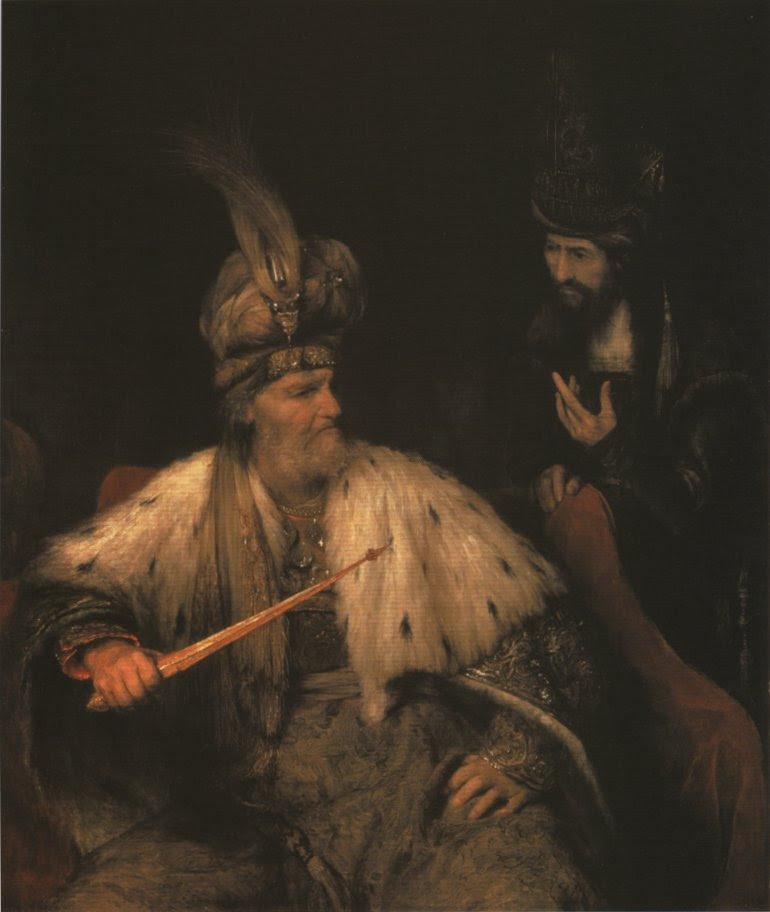 Arent de Gelder: Ahasuerus and Haman