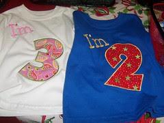 Birthday / Age T-shirt