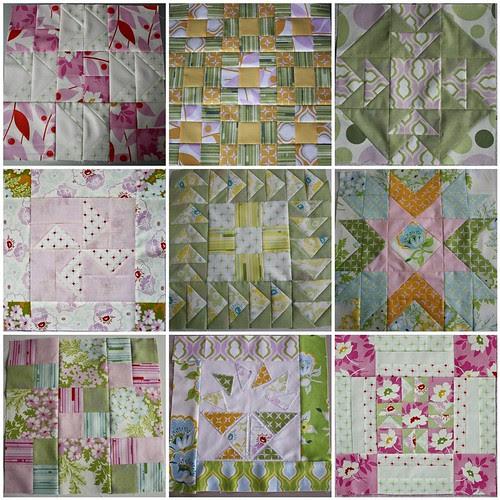 Blocks 1-9 mosaic