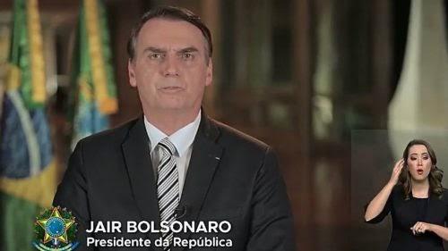 Em discurso de Natal, Bolsonaro diz que ano termina 'sem denúncias de corrupção'