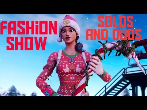 FORTNITE fashion shows solos and duos