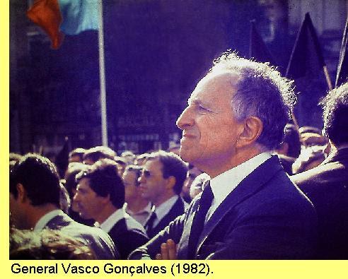 Gen. Vasco Gonçalves, foto de Henrique Matos.