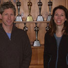 Lila and Rigger with Awards - FoodSpring Interview