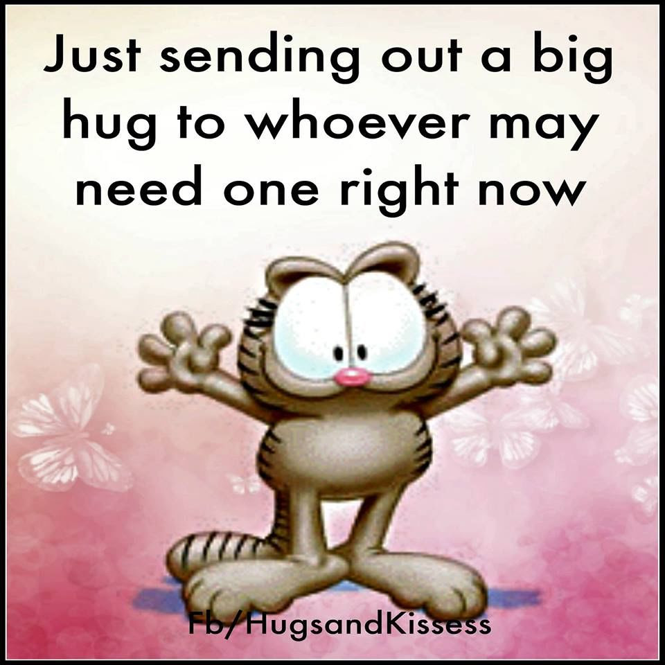 Just Sending Out A Hug To Whoever Needs It Right Now Quote Pictures