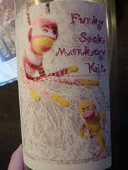 funcky sock monkey kit