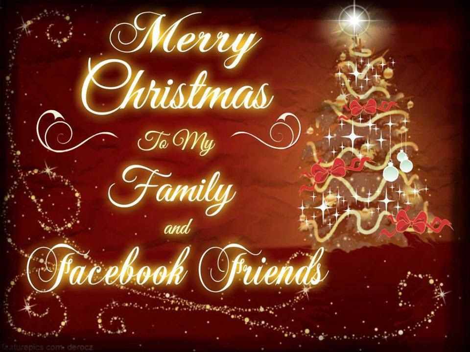 Facebook Friends Merry Christmas Quote Pictures Photos And Images