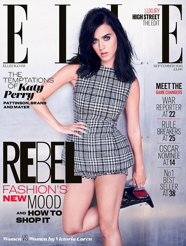 The full interview appears in the September issue of ELLE UK, on sale Wednesday July 31