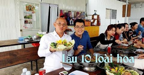 Food For Good #393: Ngon vô đối Lẩu 10 loại hoa Ngôi Nhà Bay Dalat !
