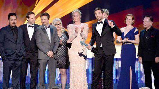 Escándalo americano se impuso en los premios del Sindicato de Actores.