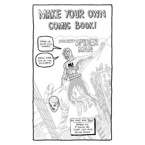 Make Your Own Spiderman Comic Book