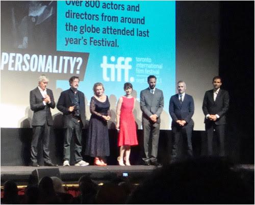 Tracks Q & A, Elgin theatre, TIFF, September 10, 2013