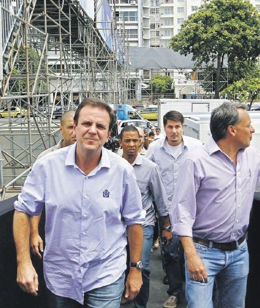Paes alertou a população sobre transportes. / Ale Silva/Futura Press