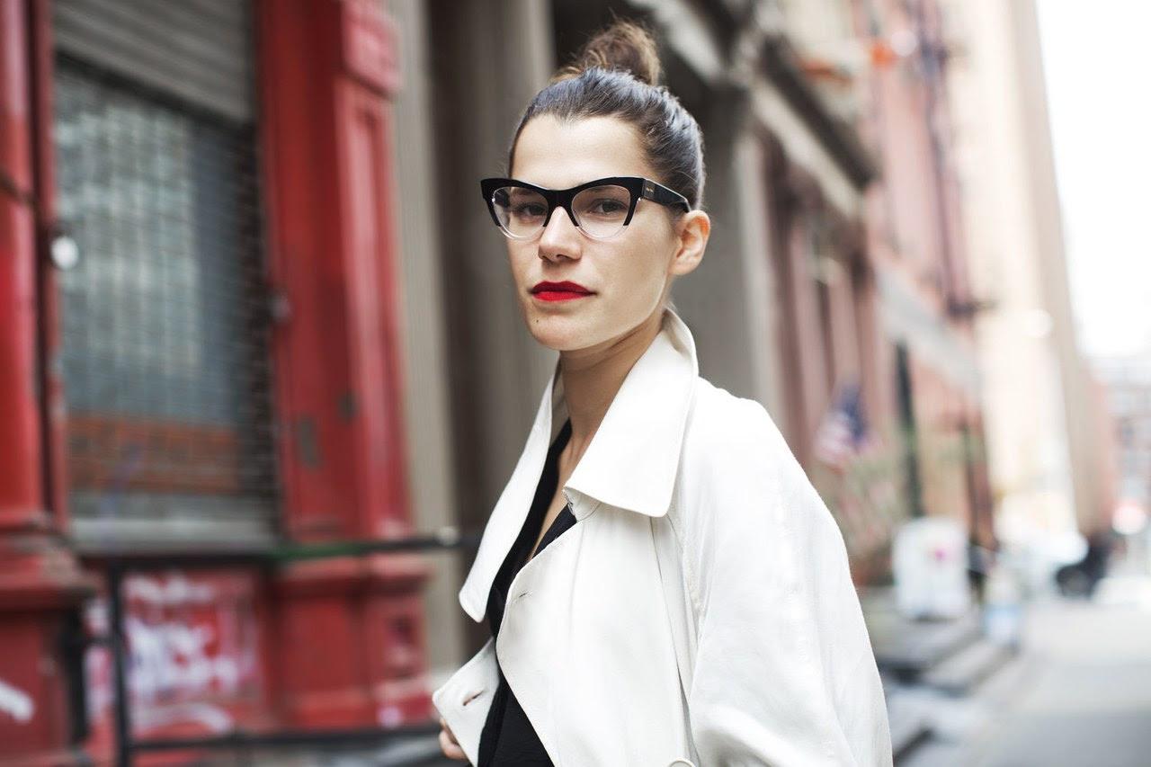 Resultado de imagen de gafas graduadas street style