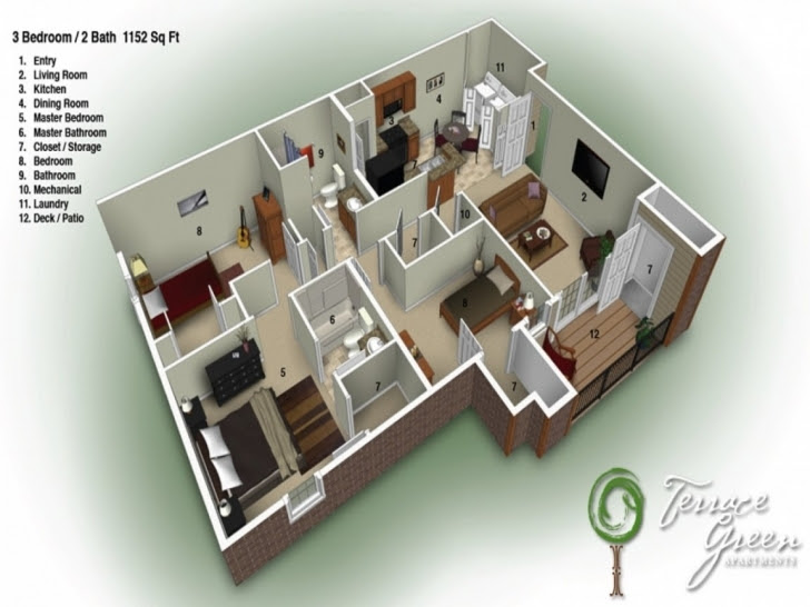 Popular Middle Class House Design In Indian