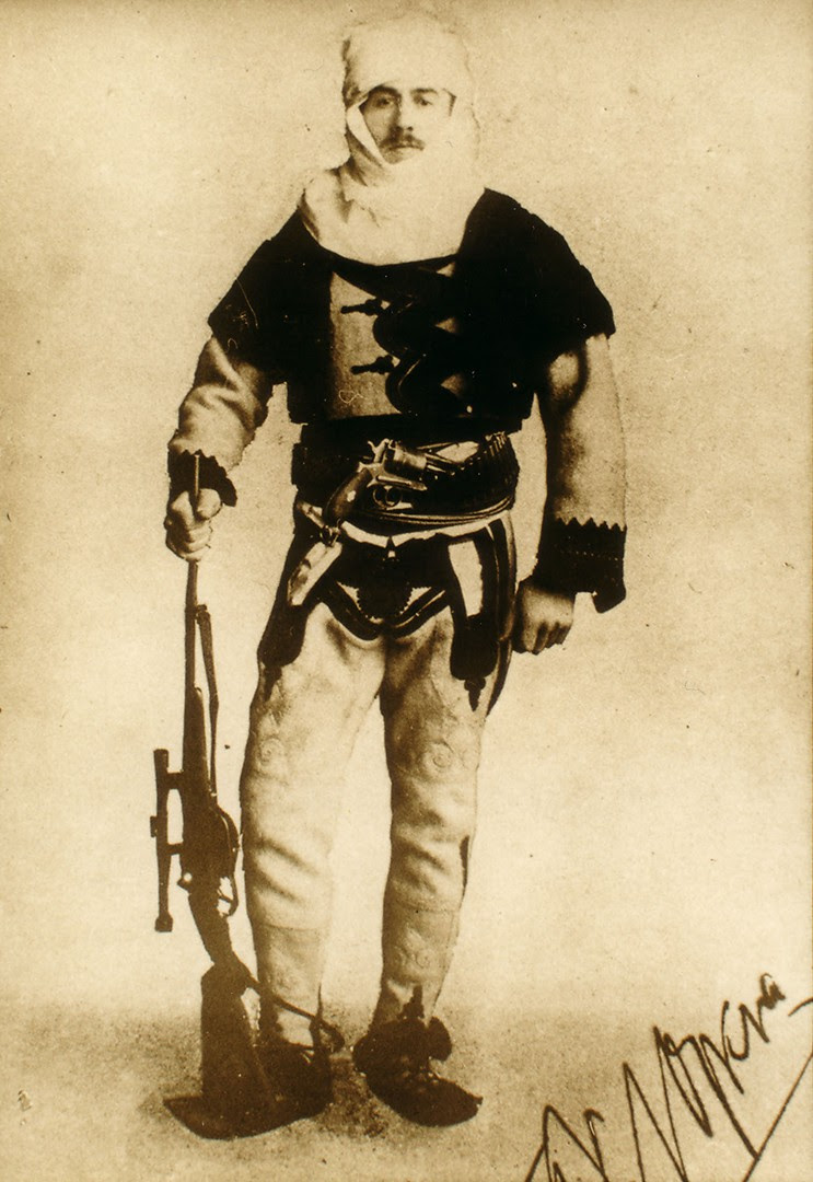 Baron Franz Nopcsa in Albanian uniform